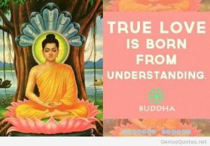 What Budha said about Love ?